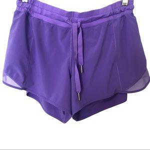 Lululemon Running Shorts Purple 10